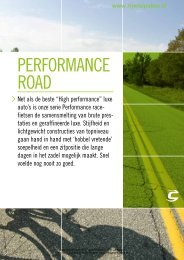 pERfoRmanCE Road - Rijwielpaleis Bilthoven