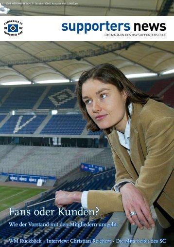 Ausgabe 48 10/2006 - HSV-Supporters