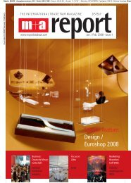 Special feature: Design / Euroshop 2008 - spek DESIGN