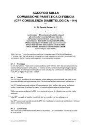 ACCORDO SULLA COMMISSIONE PARITETICA DI FIDUCIA - Hplus