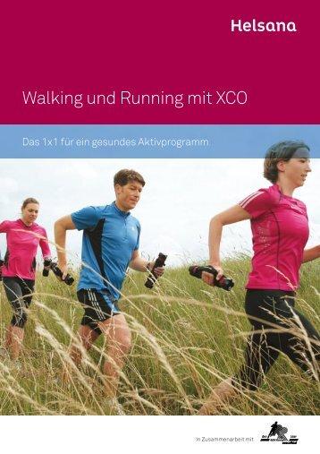 Walking und Running mit XCO - Helsana Versicherungen AG