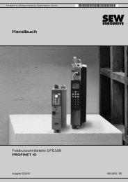 Feldbusschnittstelle DFE32B PROFINET IO - Download - SEW ...