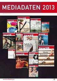 MEDIADATEN 2013 - Österreichische Textil Zeitung