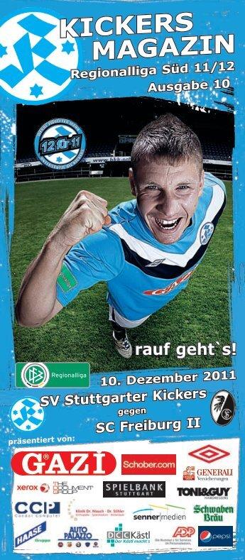 MAGAZIN KICKERS - SV Stuttgarter Kickers