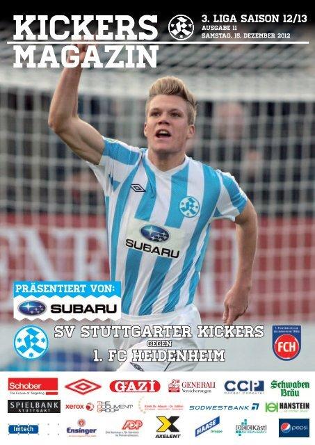 11 Kickers-Magazin 1.FC Heidenheim (pdf mit - SV Stuttgarter Kickers