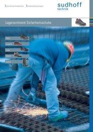 Lagersortiment Sicherheitsschuhe - sudhoff technik GmbH