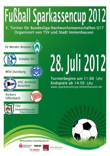 Stadionheft 2012 - TSV Immenhausen