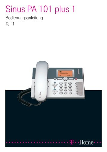 Sinus PA 101 plus 1 - Telefon.de