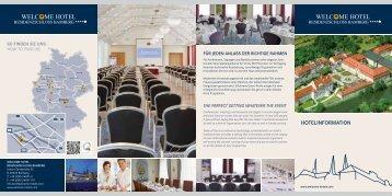 Hausprospekt als Download - Welcome Hotels