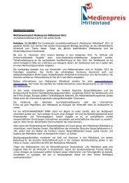 Auftakt_PM_10_MM (pdf, 194 KB) - Verband Deutscher ...