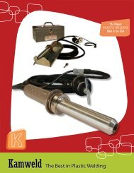 to download our new product brochure - Kamweld