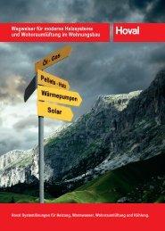 Wegweiser für moderne Heizsysteme und ... - Hoval Herzog AG