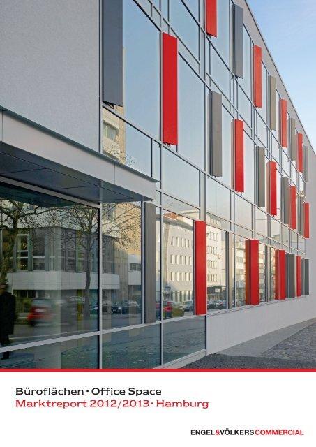 Büroflächen · Office Space Marktreport 2012/2013 · Hamburg