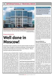 Well done in Moscow! - German Centres