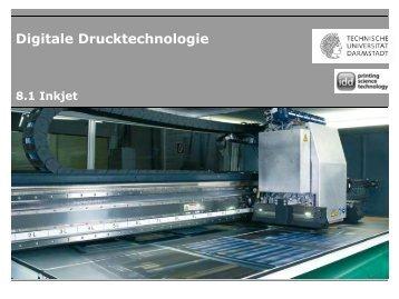 Digitale Drucktechnologie - IDD - Technische Universität Darmstadt
