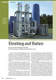 Erneuerbare Energien | April 2009 - Biogaspartner