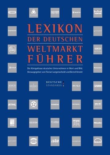 Lexikon der Weltmarktführer - Eickhoff GmbH