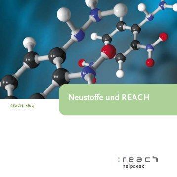 """Broschüre """"Neustoffe und REACH"""" - Bundesanstalt für Arbeitsschutz ..."""