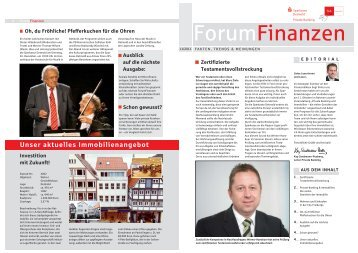 Private Banking & Immobilien - Sparkasse Detmold