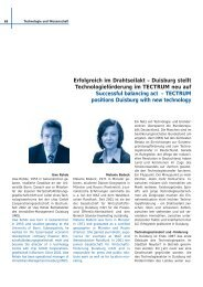 Erfolgreich im Drahtseilakt – Duisburg stellt Technologieförderung ...