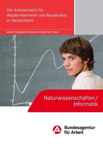 Naturwissenschaften/ Informatik - Statistik der Bundesagentur für ...