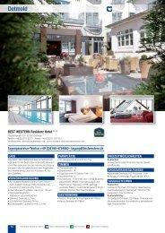 Teil 2 (Detmold - Hünfeld) laden - Best Western Hotels Deutschland