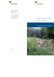 3130_Flyer UmweltpolitikCH - Holcim