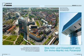 Was Köln und Düsseldorf eint: Ein Immo-Markt mit ... - im Text-Kontor