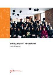 Kompetenzcenter Bildung_Broschüre - GIZ