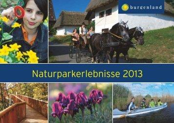 Naturparkerlebnisse 2013 - Naturpark Geschriebenstein