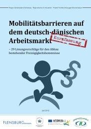 Mobilitätsbarrieren auf dem deutsch-dänischen Arbeitsmarkt
