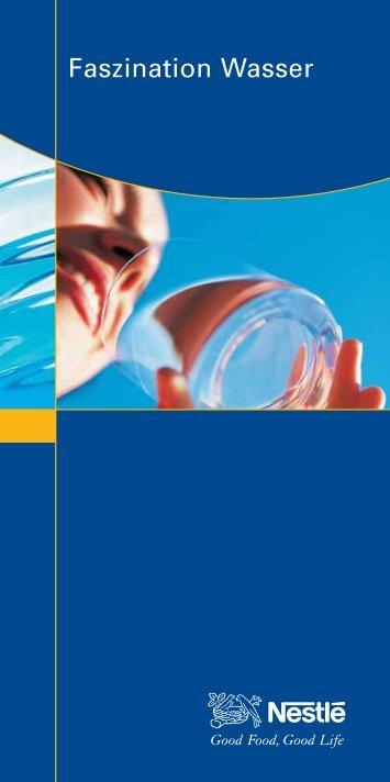 Faszination Wasser - Nestlé Deutschland AG