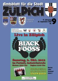 Amtsblatt0912.pdf - Stadt Zülpich