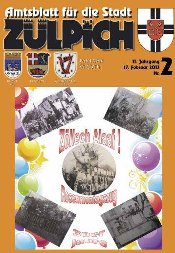 Amtsblatt0212.pdf - Stadt Zülpich