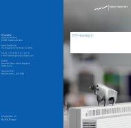 ETF-Handbuch E T F -H an d b u ch - Börse Frankfurt