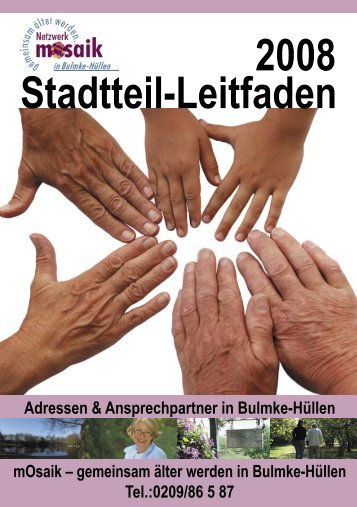 Stadtteil-Leitfaden 2008 - Stadterneuerung Gelsenkirchen