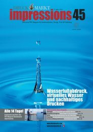 Grünes, blaues, graues Wasser - Druckmarkt