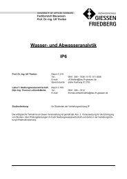 Wasser- und Abwasseranalytik IP6