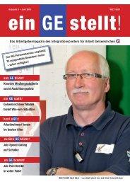 Das Arbeitgebermagazin des Integrationscenters für Arbeit - IAG ...