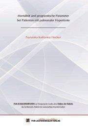Mortalität und prognostische Parameter bei Patienten mit ...