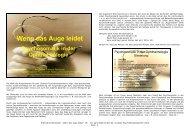 Wenn das Auge leidet (pdf) - Lindauer Psychotherapiewochen