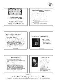 Dissoziative Störungen erkennen und behandeln (pdf) - Lindauer ...