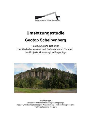 Umsetzungsstudie Geotop Scheibenberg