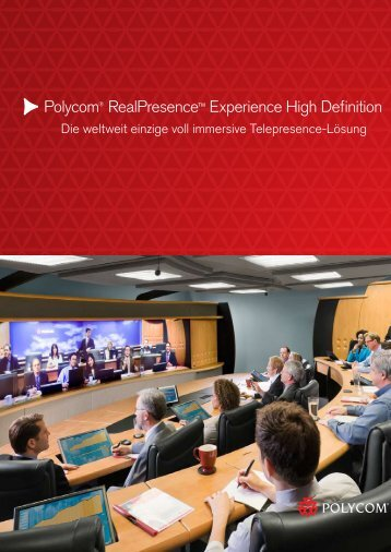 Polycom® RealPresence™ Experience High Definition - LIPINSKI ...