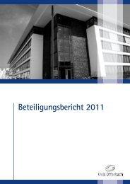 Beteiligungsbericht 2011 - Kreis Offenbach