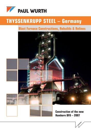 THYSSENKRUPP STEEL – Germany - Paul Wurth