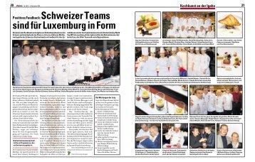 Kochkunst an der Igeho - Hotellerie et Gastronomie Verlag