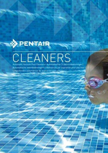 CLEANERS - Pentair Pool Europe
