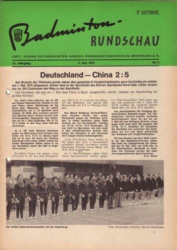 Nr. 5 Mai 1975 - BLV-NRW