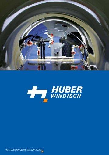 Fabrikationsprogramm - Huber AG Windisch